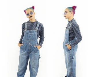 ON SALE Boyfriend 90s GAP Baggy Overall, 90s Grunge, Vintage Dungarees, 90s Overalls Pants, Women's Size Small