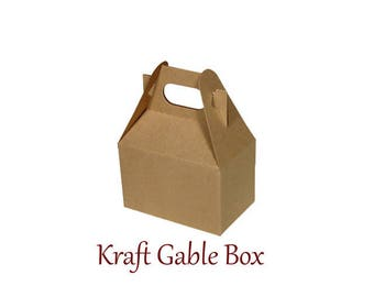 Boxes ,  Kraft Take Out Boxes & Containers , Kraft  Gable Boxes , Barn Boxes , Mini Gable Boxes , Favors, gifts,