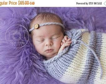 Happy Birthday sale newborn knit pod, photo props