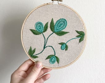 The places you will go - Embroidery Hoop - 6 inch