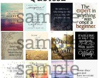 Quote, #2-2, Planner Stickers, Motivation, Inspiration, Life, Love, Home, Stickers, Erin Condren, Plum Paper Planner, Happy Planner