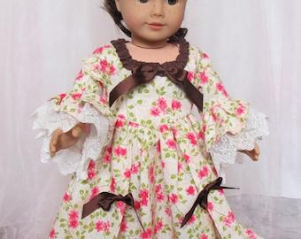 """18"""" (American) Doll Dress Marie Antoinette Inspired"""