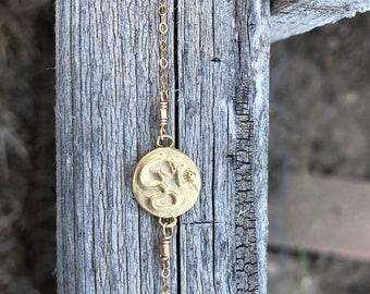 Ohm Gold Filled Bracelet