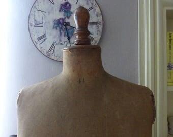 Antique French Mannequin, Circa 1920 For Repair,