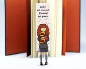 Neue Hermine Lesezeichen. Hermine Granger ausgefallenes Geschenk für Buchliebhaber, sie, Mutter, Frauen, Teenager-Mädchen, Lehrer, Mitarbeiter, Kind, Oma, Schwester.