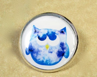 Owl Pin, Owl Brooch, Owl Jewelry, Owl Lapel Pin, Owl Gifts, Owl Lover Gifts, Gifts for Owl Lover, Owl Collector Gifts, Gifts with Owl