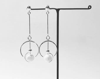 Rebirth Earrings / 925 Silver