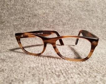 Ray-Ban Bausch & Lomb Tortoise Shell Eyeglass Sunglasses Frames No Lenses RB5148 New Wayfarer