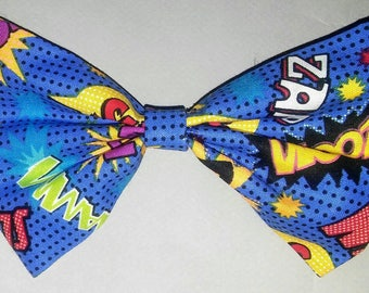 Comic Book Hairbow.