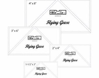 Flying Geese Bloc Loc -Set #1