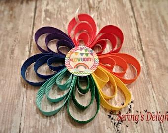 Love Wins Ornament - Pride Gift - Gay Pride - LGBT - Rainbow - Engagement Gift - Celebrate Pride - Housewarming Gift - Lesbian - Gay Gift
