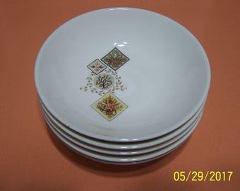 Taylor Smith Taylor Ever Yours Brocatelle Dessert Bowls ( set of 5)