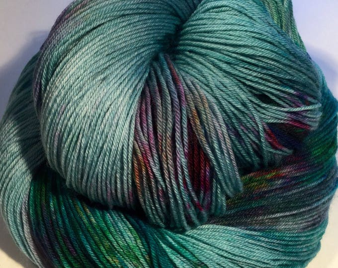 I C Spots - Blue Ocean - Fingering / Sock Yarn