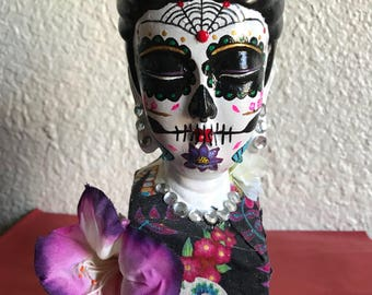 Quan Yin day of the dead figure