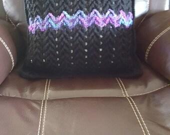 Crochet Pillow Cover 18 x 18