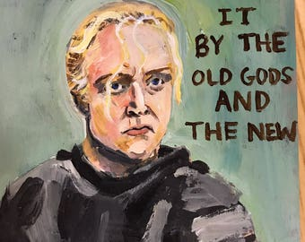Game of Thrones quote painting