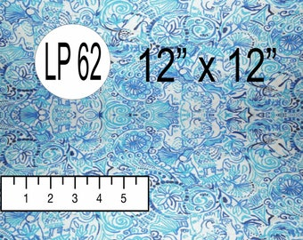 LUCKY TRUNKS (LP-62) Inspired by Lilly Pulitzer Pattern Vinyl - Top Quality Commercially Printed