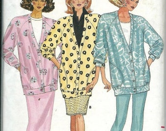 ON SALE Butterick 4753 Misses Fast & Easy Jacket, Skirt and Pants Pattern, Sizes 6-8-10  UNCUT
