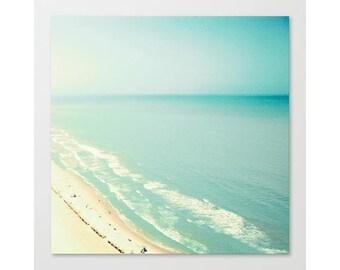 Beach print, beach prints, aerial beach photography, canvas art, large art, large beach print, beach canvas, canvas wall art canvas