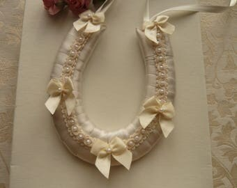 Small Wedding Horseshoes with Bows