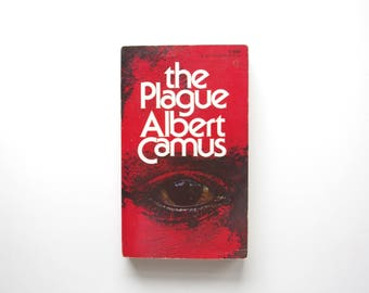 The Plague by Albert Camus - Vintage Paperback, Albert Camus Book, Existentialism