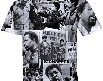 Black Panther Party 1965 T-Shirt .  Men's (Unisex) Sublimation Shirt