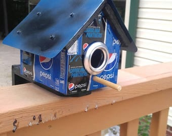 Pepsi Birdhouse hand made