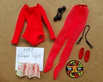 1782 Shape-Ups by Mattel mod era 1970-71 Barbie outfit