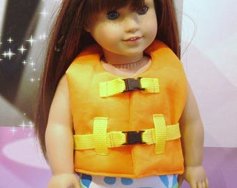 Life Jacket for American Girl dolls