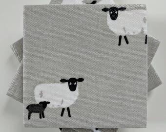 Ceramic Coasters in Sophie Allport Sheep