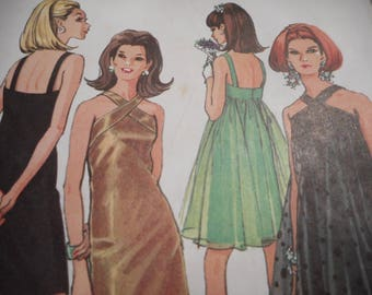 Vintage 1960's McCall's 8996 Dress Sewing Pattern Size 16 Bust 36