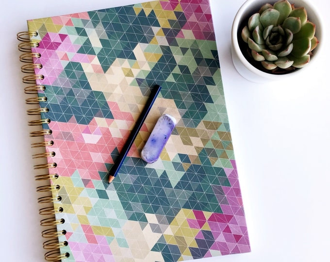 Featured listing image: Geometric Pattern A4 Sketchbook