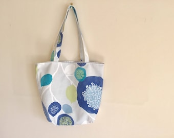Ladies Shoulder Bag, Floral Tote Bag, Fabric handbag, Floral Shoulder Bag, Summer Holiday Bag