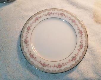 Noritake Japan Bread and Butter Plates, Glenwood Pattern (5770)