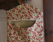 Floral Clothes Pin Bag -Ready to Ship