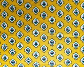 FABRIC-French Mustard Fabric by the Yard-Quilt Fabric-Apparel Fabric-Home Decor Fabric-Fat Quarter-Craft Fabric-Fat Quarters