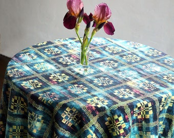 Table cloth rectangle - Square tablecloth - Emerald tablecloth - Green table cloth - Deep green tablecloth - Table cover