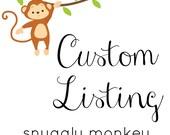 Custom Listing for  Misty