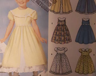 Simplicity Girl's Dress Sewing Pattern 7120