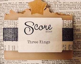 Limited Edition Three Kings soap