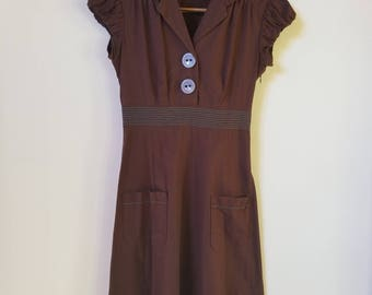 Ruby Rox beautiful dust bowl 30s style dress