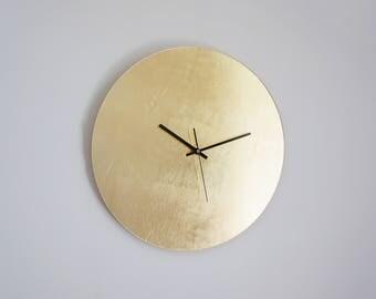 """Golden Wall Clock - ø 15,7"""""""