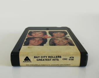 Bay City Rollers Greatest Hits / 1977 Vintage 8 Track cassette