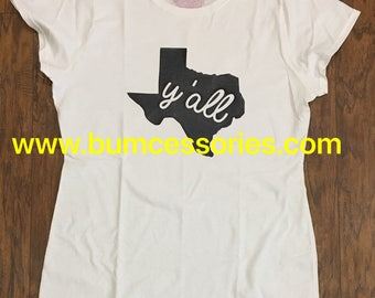 Texas State Y'all T-Shirt