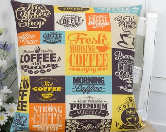Coffee Lovers Gift Pillow