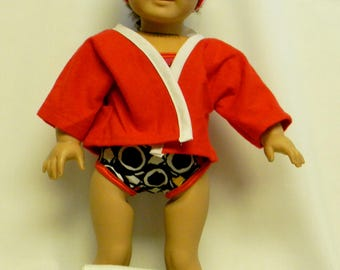 Swimsuit For 18 Inch Doll Like The American Girl