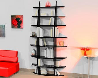 Bookcase RETENTO high SLIM