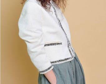 Mademoiselle Chanel - Elegant Tweed Jacket