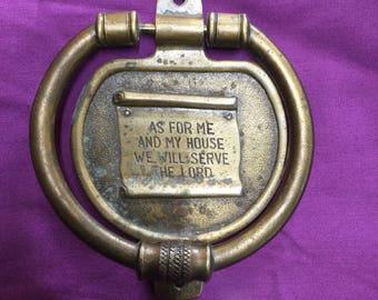Vintage CPH Brass Door Knocker