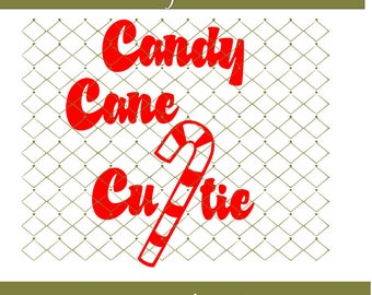 Candy Cane Cutie SVG File Instant Download Cutting Machine File Png Dxf Files Included Candy Cane Svg Png Dxf